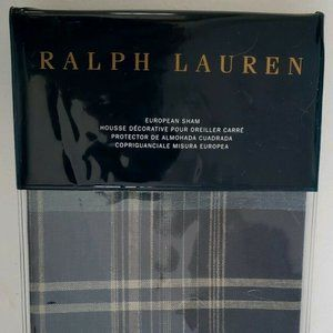 NWT-RALPH LAUREN~ONE EURO SHAM~ARTISAN LOFT~JASPER